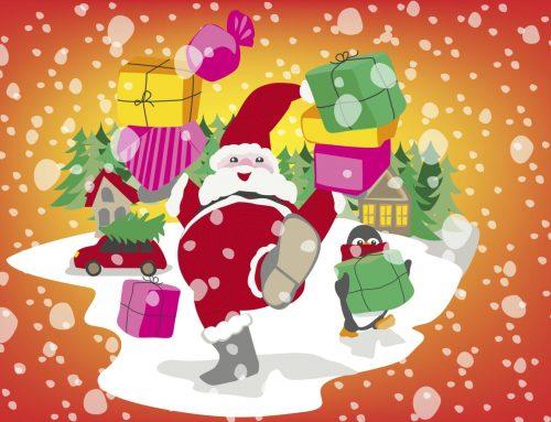 Kerst illustraties